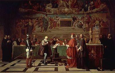 Galileo ante el Santo Oficio, por Robert-Fleury