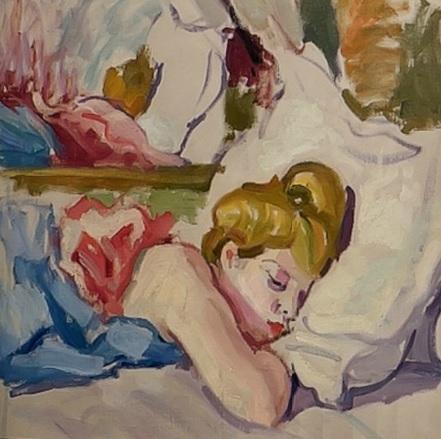 Charles Camoin.La bella durmiente,1904. Colección particular.