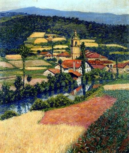 Yurreta,1907.Óleo sobre lienzo.65x55cm.Colección Pedro Icaza Zabalburu