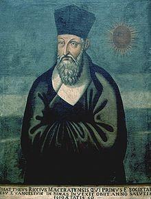 Mateo Ricci, gran evangelizador de China, jesuita