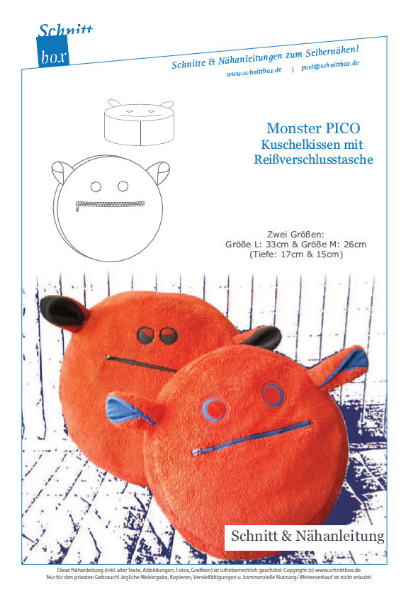 Monsterkissen Pico