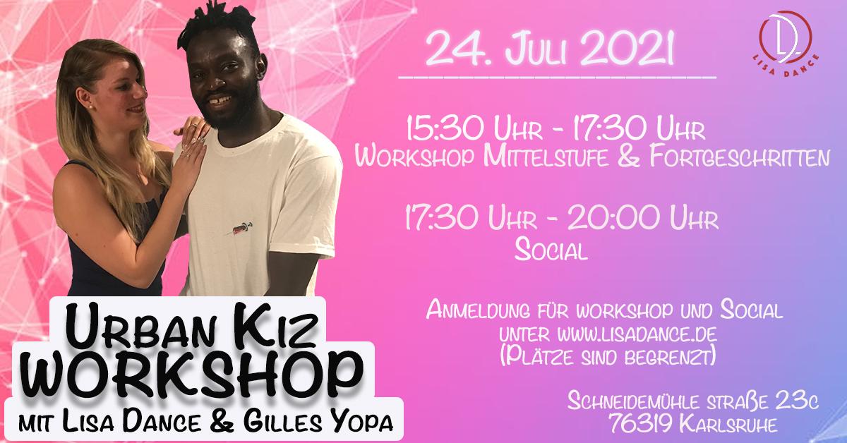 Urban Kiz Workshop mit Lisa & Gilles