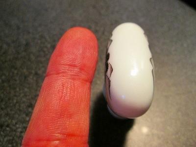 ナースの指のようなやさしい丸み