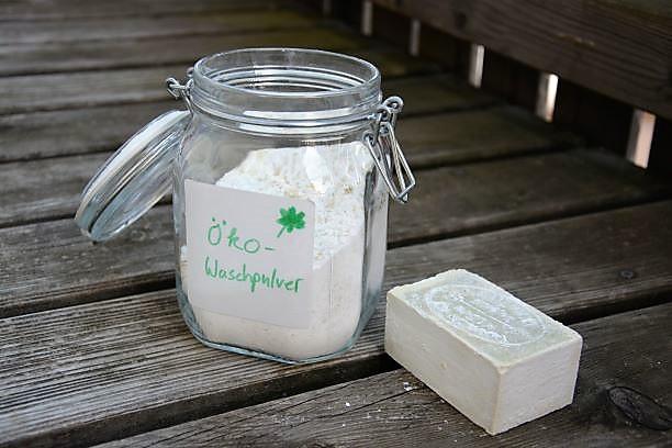 Ökologisches Waschpulver selber machen