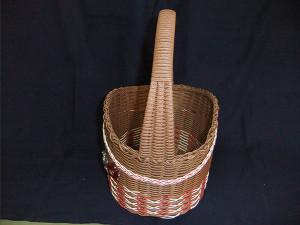 No.12  バスケット(茶)           価格 2300円