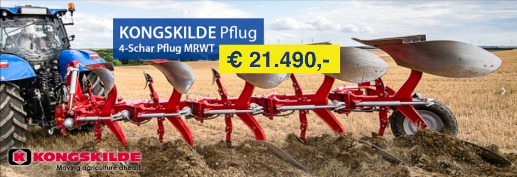 Aktion Kongskilde Pflüge MRWT bei Medl Gmbh - Landtechnik Großhandel kaufen