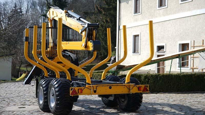 Uniforst schraeg hinten Rückewagen | 12.48 oder 14.49 / 7274| Medl GmbH