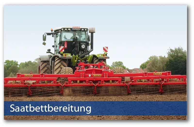 Saatbettbereitung von Knoche Landmaschinenbau
