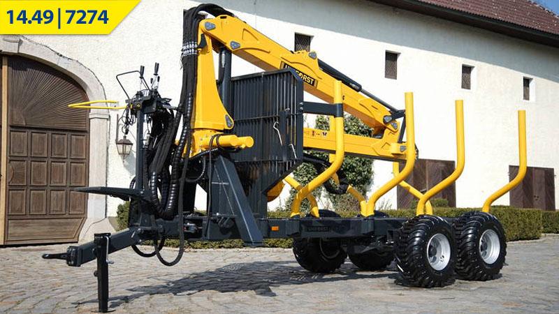 Uniforst Rückewagen 14.49 / 7274 bei Medl GmbH - Landtechnik Großhandel