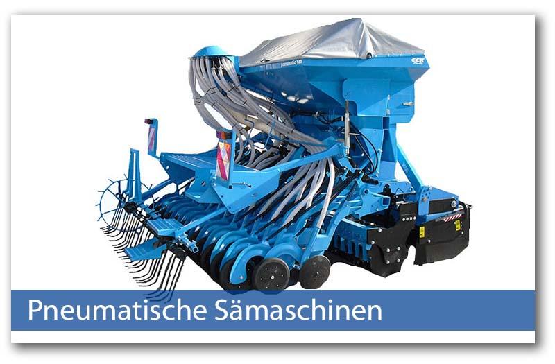 Pneumatische Sämaschinen von Eck Landmaschinenbau