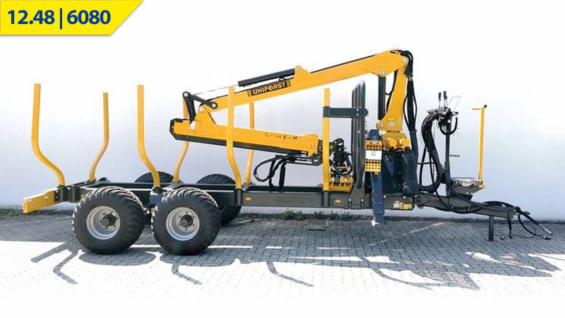 Uniforst Rückewagen 12.48 / 6080 bei Medl GmbH - Landtechnik Großhandel