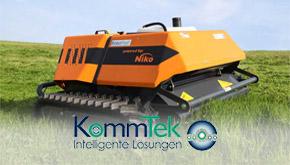 Kommtek Roboflail und weitere Mähsysteme bei Medl GmbH - Landtechnik Großhandel