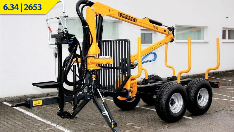 Uniforst Rückewagen 6.34 / 2653 bei Medl GmbH - Landtechnik Großhandel