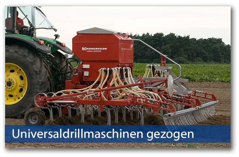 Universaldrillmaschinen gezogen von Kongskilde