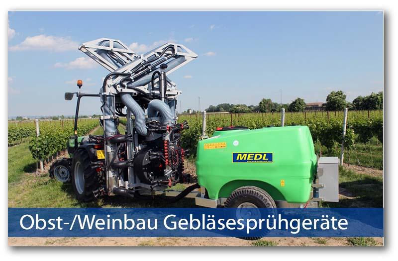 Wein-/Obstbau Gebläsesprühgeräte von Medl