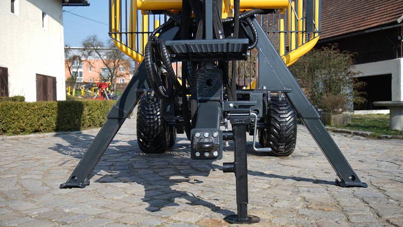 Uniforst Teleskopstützfüße Rückewagen | 12.48 oder 14.49 / 7274| Medl GmbH