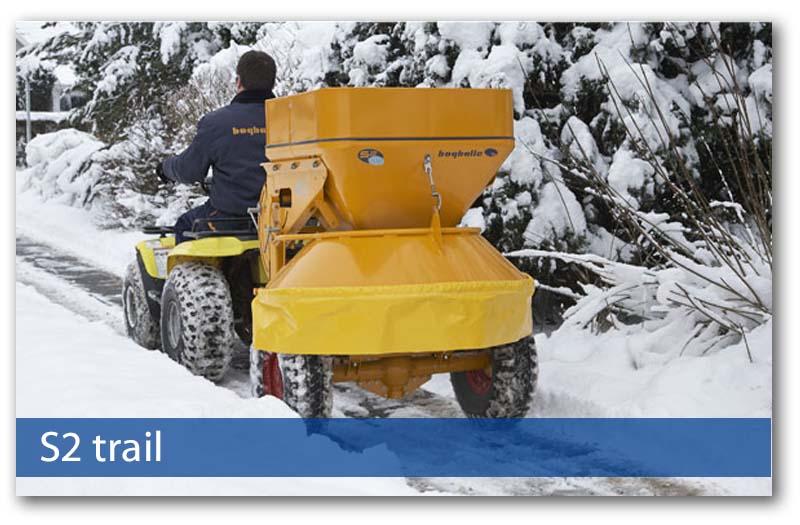 Kommunaltechnik Sand-/Salzstreuer S2 trail von Bogballe