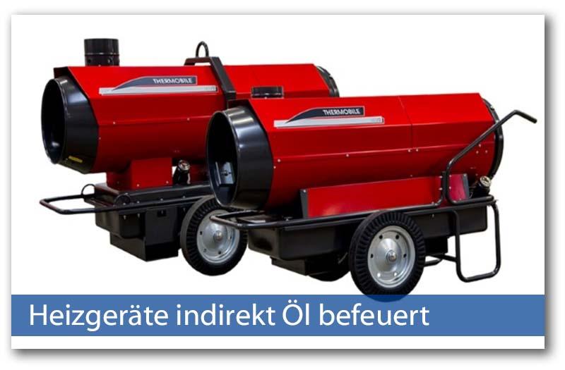 Heizer indirekt Öl befeuert von Thermobile