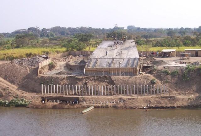 inicios del puente