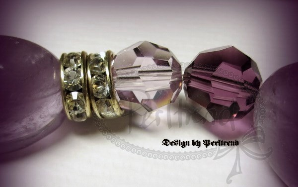 www.perltrend.com Armschmuck Pearls Hellviolett Lila Amethyst Flieder Armschmuck Armband Armkette Bracelet Schmuck Jewellery Perltrend Luzern Schweiz Onlineshop Crystals