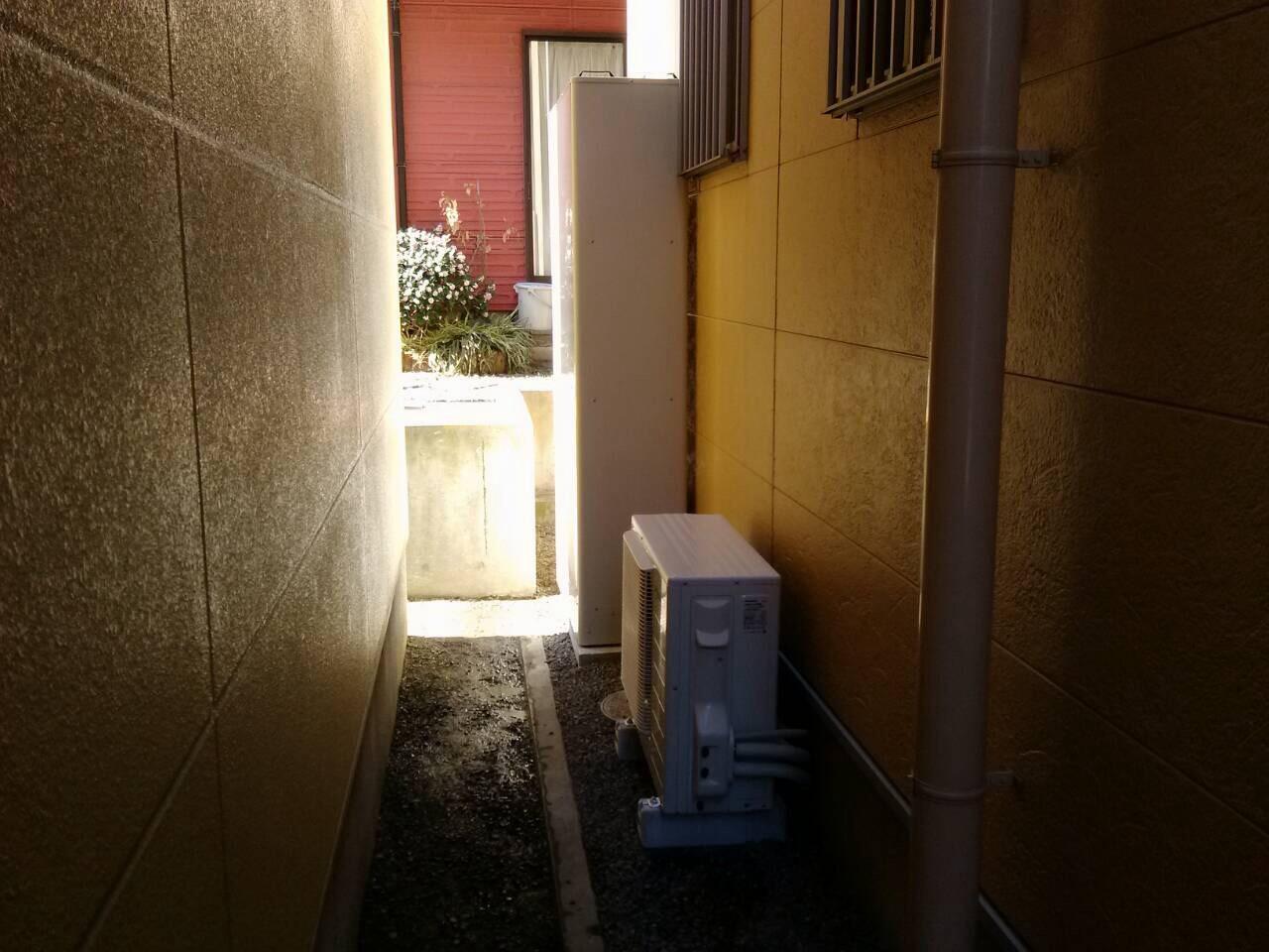 パナソニック エコキュート 薄型 スリムタイプ 沼津市