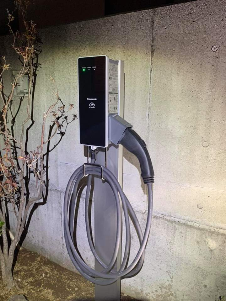 パナソニック 6kw 充電設備工事 エルシーブ 富士市