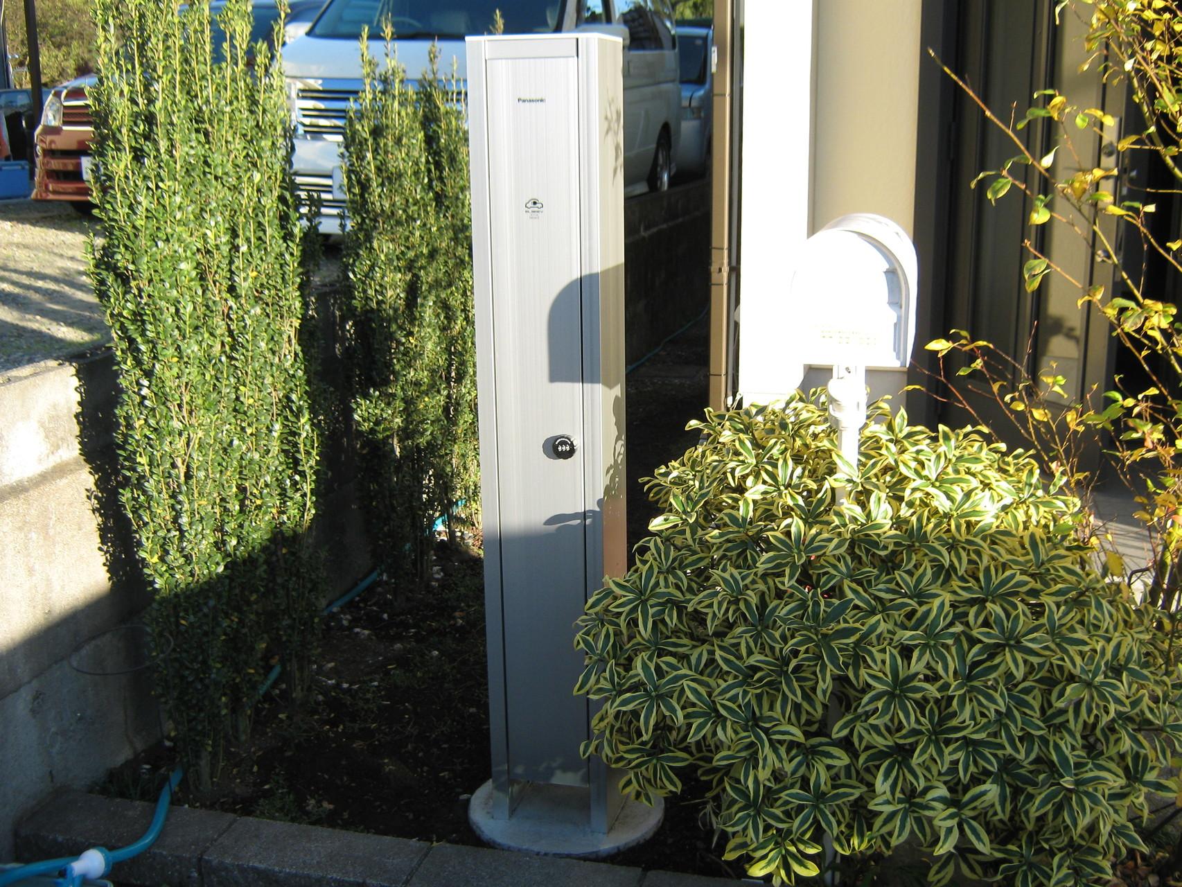パナソニック 充電スタンド 富士市 電気自動車充電設備工事
