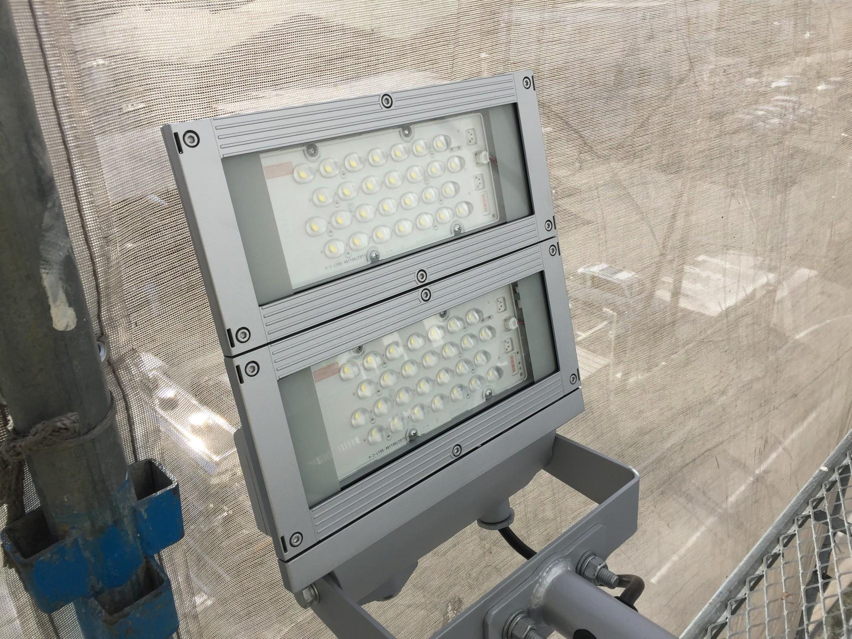 LED看板照明工事