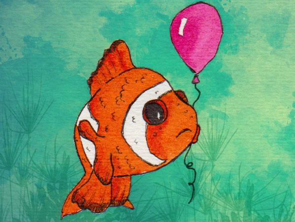 Gäste der Wal-Party: der Clownfisch