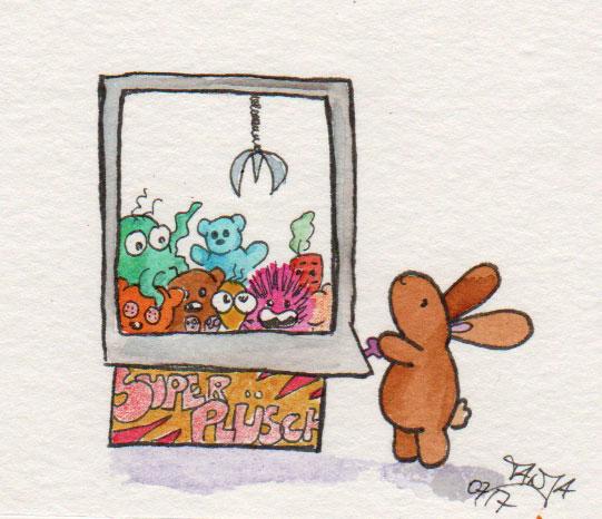 365-Tage-Doodle-Challenge - Stichwort: Stofftier