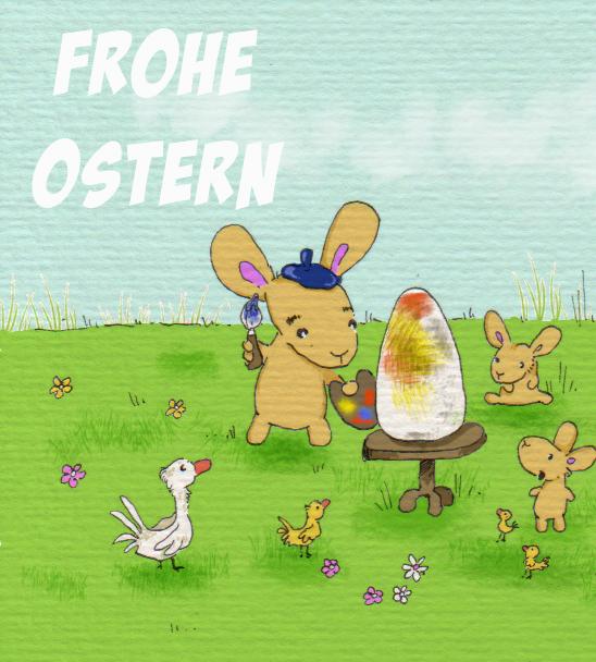 365-Tage-Doodle-Challenge - Stichwort: Osterhase