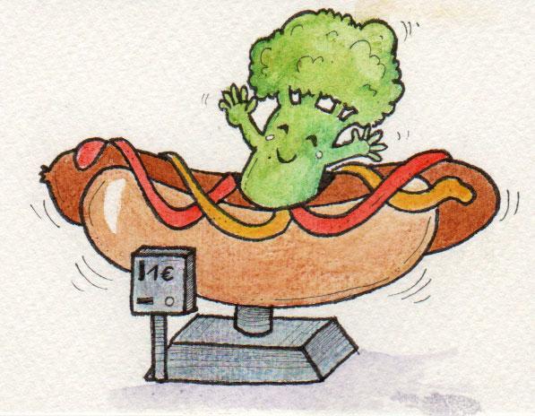 365-Tage-Doodle-Challenge - Stichwort: Hot Dog