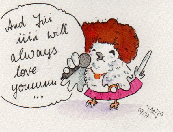 Zeichnung Nummer 269 für die 365-Tage-Doodle-Challenge zum Thema Mikrofon