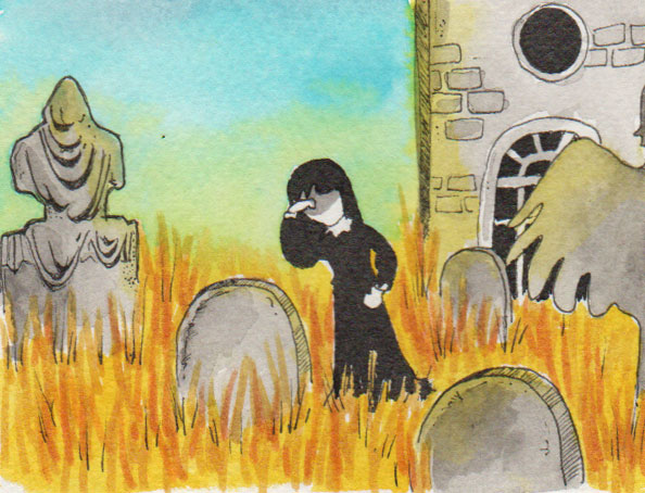 365-Tage-Doodle-Challenge - Stichwort: Witwe