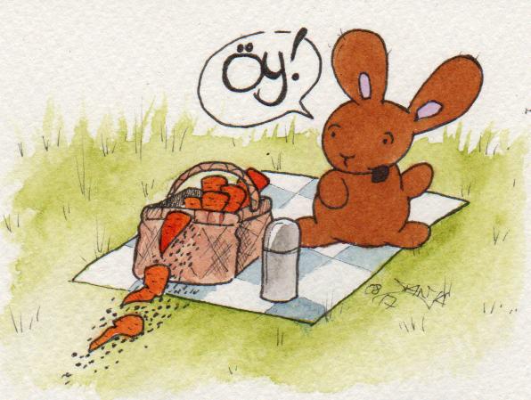 365-Tage-Doodle-Challenge - Stichwort: Picknick