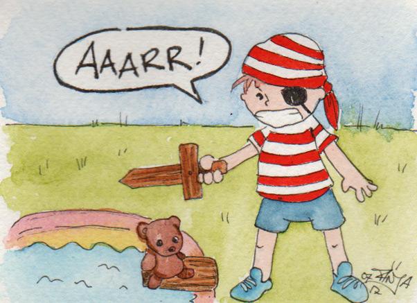 365-Tage-Doodle-Challenge - Stichwort: Pirat