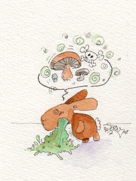 365-Tage-Doodle-Challenge - Stichwort: Pilze