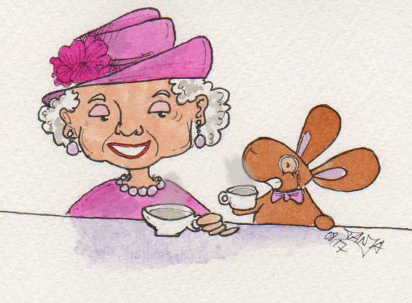365-Tage-Doodle-Challenge - Stichwort: Tee