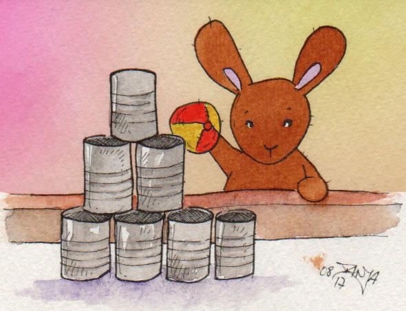 365-Tage-Doodle-Challenge - Stichwort: Konservendose