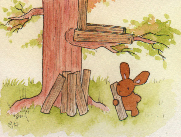 365-Tage-Doodle-Challenge - Stichwort: Baum