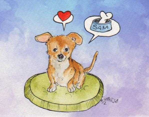 365-Tage-Doodle-Challenge - Stichwort: Hund