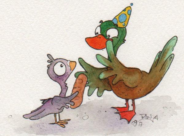 365-Tage-Doodle-Challenge - Stichwort: Ente