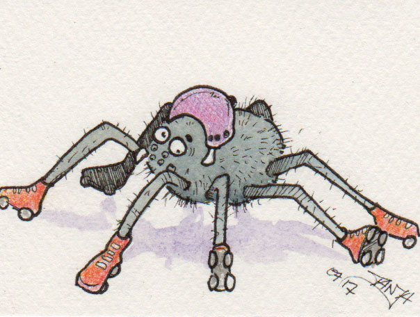 365-Tage-Doodle-Challenge - Stichwort: Insekt