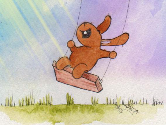 365-Tage-Doodle-Challenge - Stichwort: Schaukel