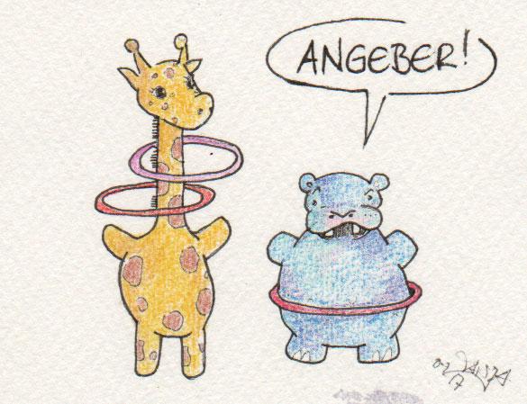 365-Tage-Doodle-Challenge - Stichwort: Hula Hoop