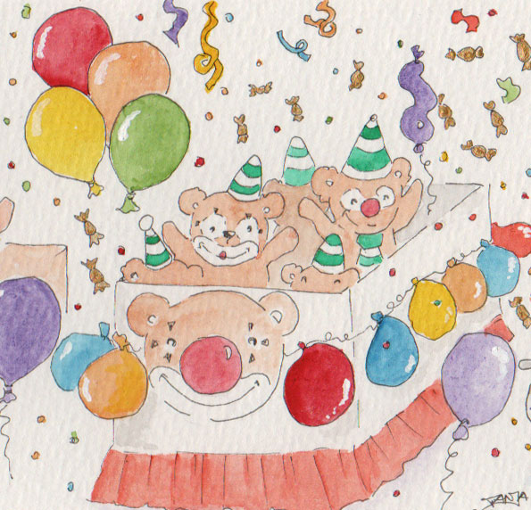365-Tage-Doodle-Challenge - Stichwort: Kamelle