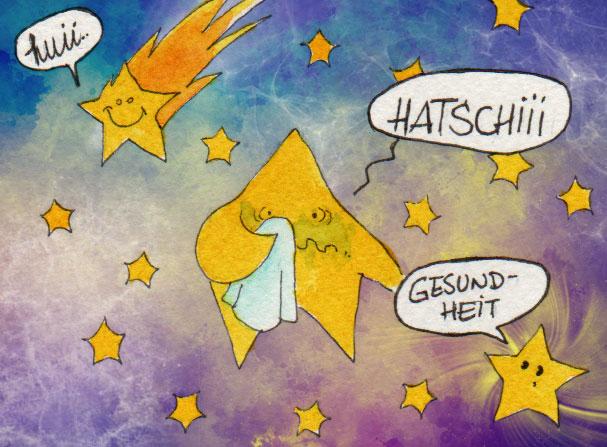 365-Tage-Doodle-Challenge - Stichwort: Sternschnuppe