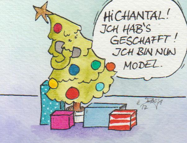 .. Doodle 357/365 - Stichwort: Weihnachtsbaum