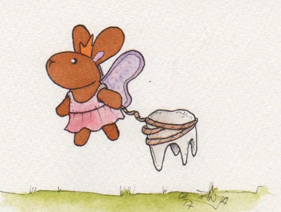 365-Tage-Doodle-Challenge - Stichwort: Zahnfee