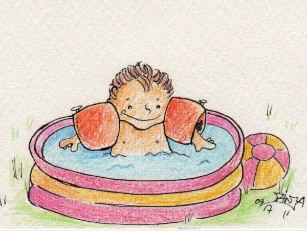 365-Tage-Doodle-Challenge - Stichwort: Schwimmen